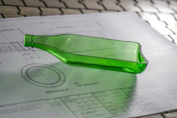 Lightweight glass: a sustainable glass bottle by Vetropack | Glass